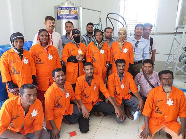 A study tour of Dhaka honey value chain